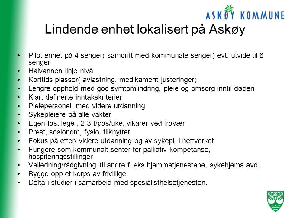 Lindende enhet lokalisert på Askøy