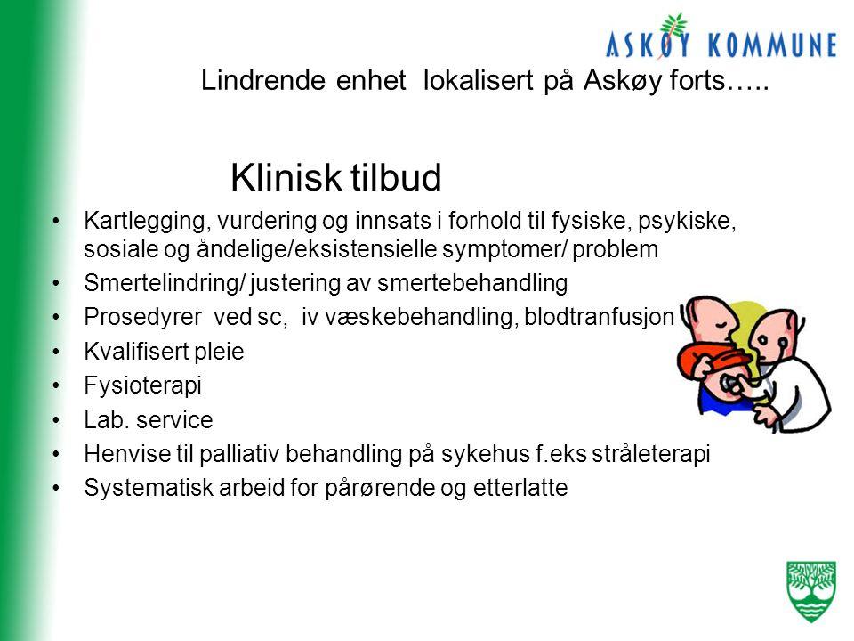 Lindrende enhet lokalisert på Askøy forts…..