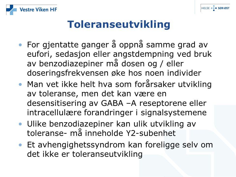 Toleranseutvikling