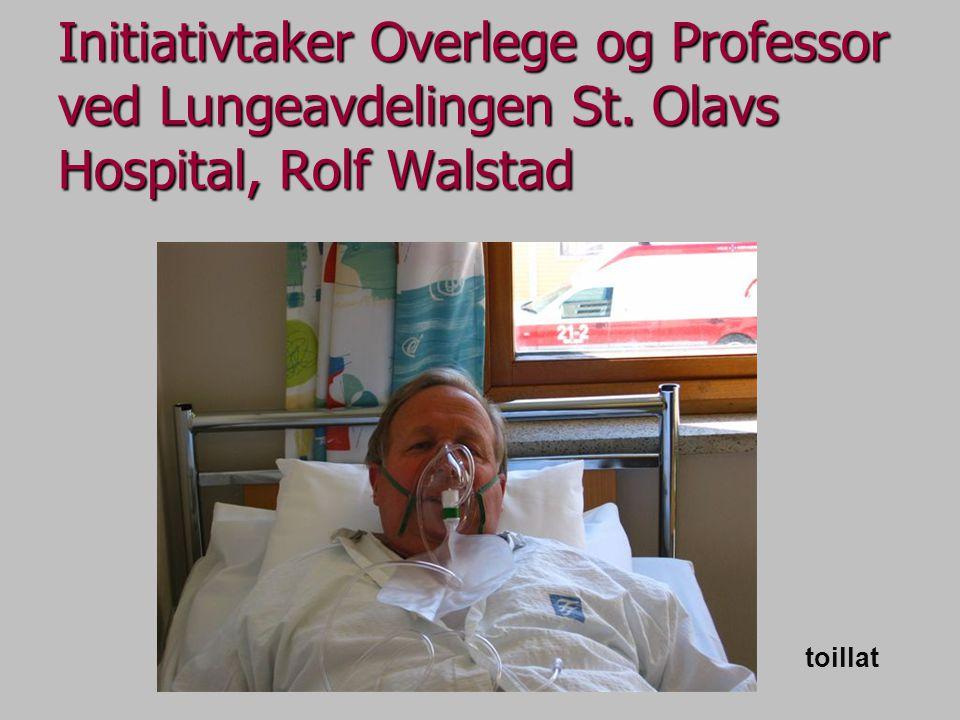Initiativtaker Overlege og Professor ved Lungeavdelingen St