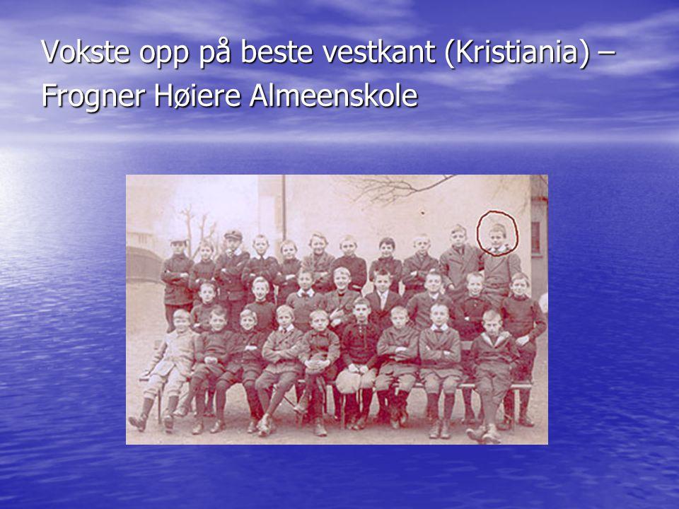 Vokste opp på beste vestkant (Kristiania) – Frogner Høiere Almeenskole
