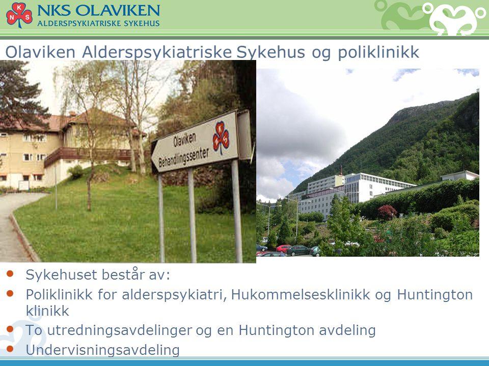 Olaviken Alderspsykiatriske Sykehus og poliklinikk