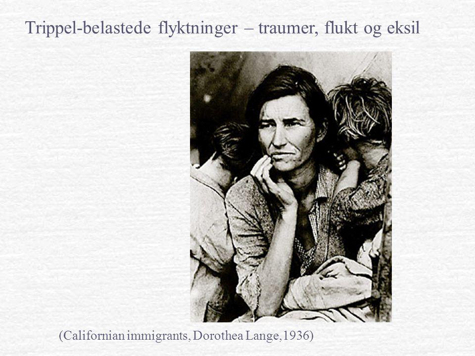 Trippel-belastede flyktninger – traumer, flukt og eksil