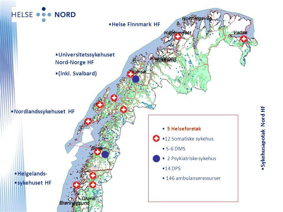 Universitetssykehuset Nord-Norge HF (inkl. Svalbard)
