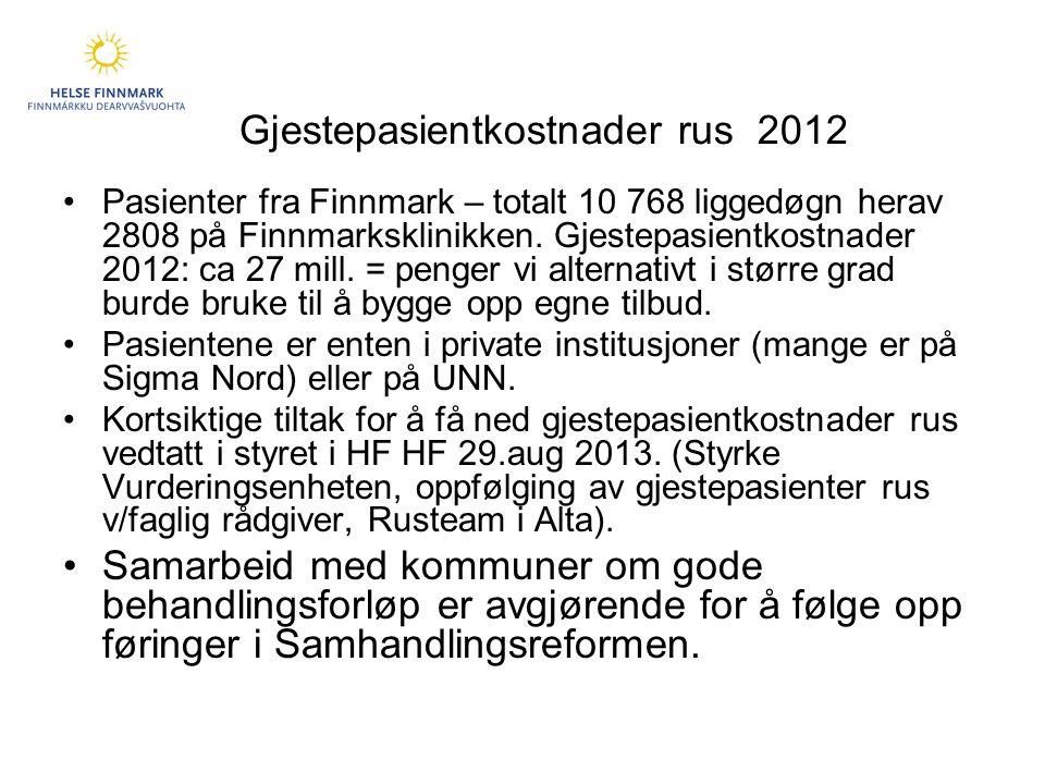 Gjestepasientkostnader rus 2012