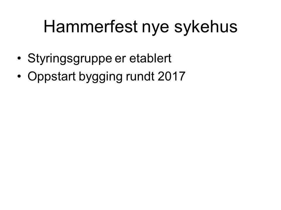 Hammerfest nye sykehus