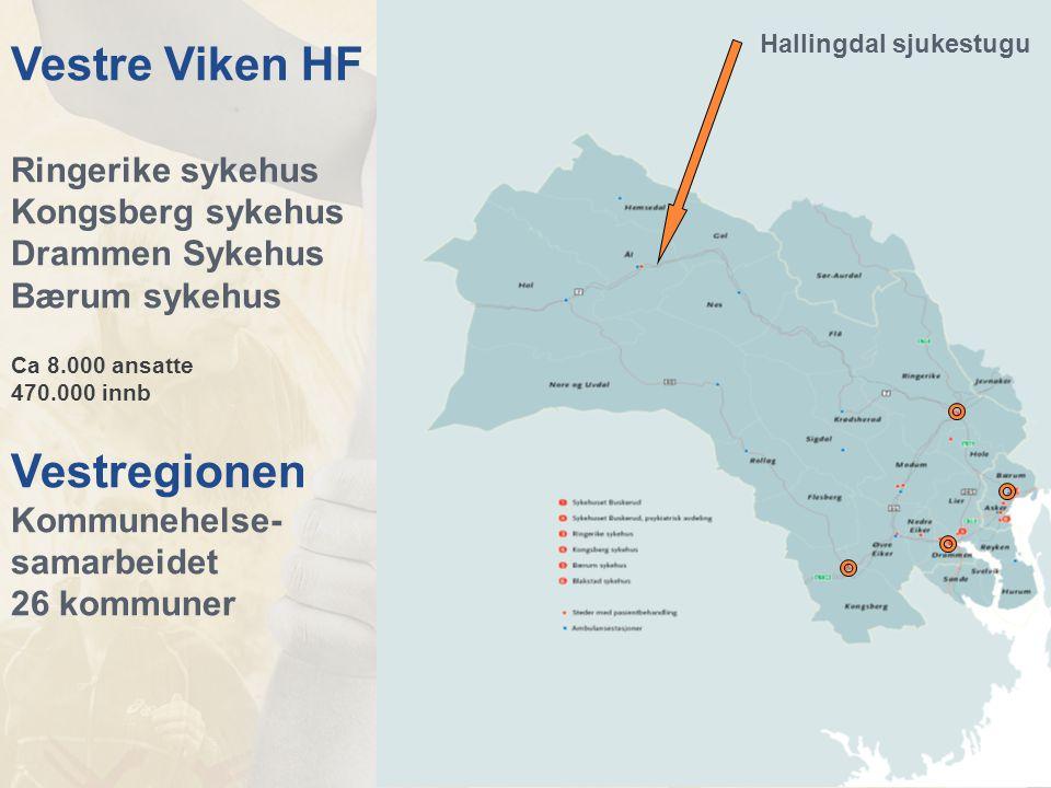 Vestre Viken HF Vestregionen Ringerike sykehus Kongsberg sykehus