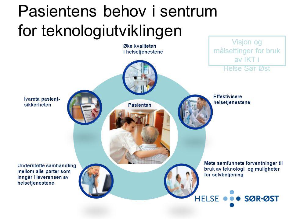 Pasientens behov i sentrum for teknologiutviklingen