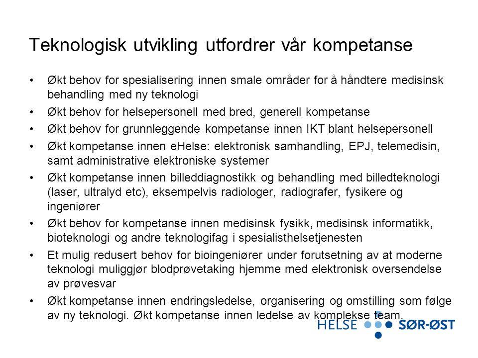 Teknologisk utvikling utfordrer vår kompetanse