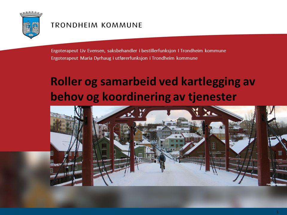 Ergoterapeut Liv Evensen, saksbehandler i bestillerfunksjon I Trondheim kommune