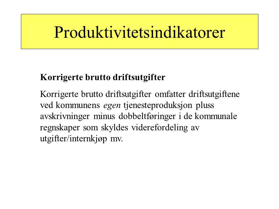 Produktivitetsindikatorer