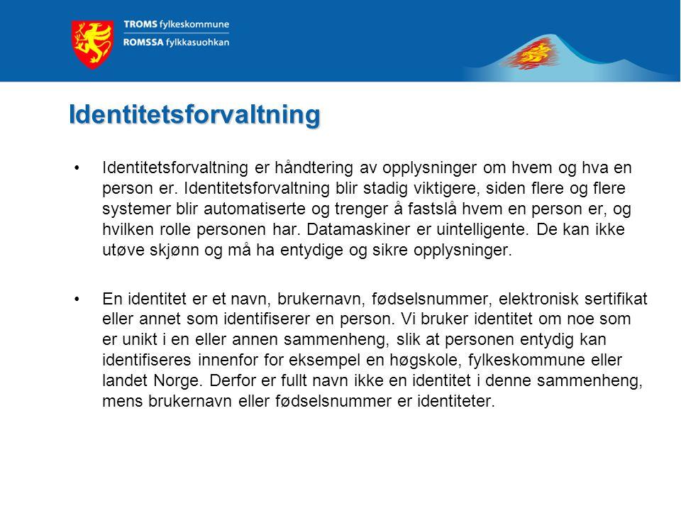 Identitetsforvaltning