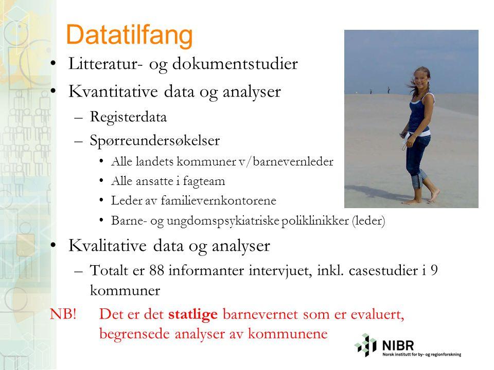 Datatilfang Litteratur- og dokumentstudier