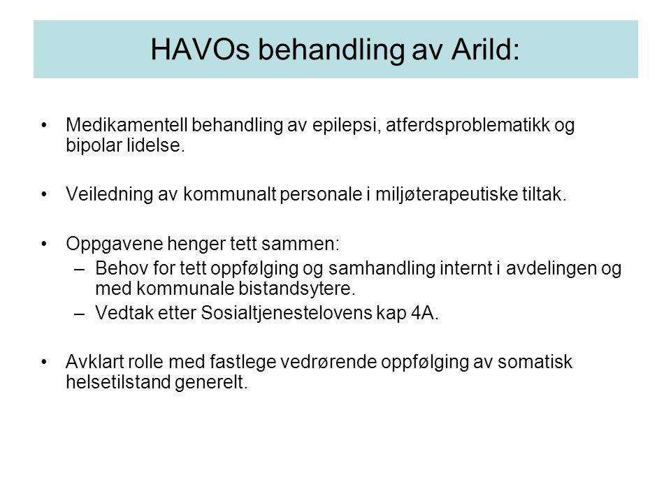 HAVOs behandling av Arild: