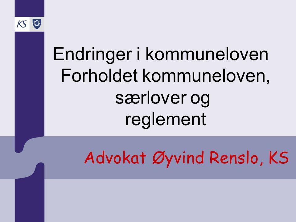 Advokat Øyvind Renslo, KS