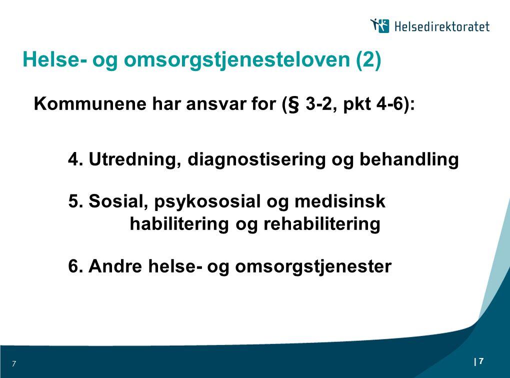 Helse- og omsorgstjenesteloven (2)