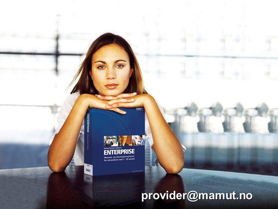 provider@mamut.no