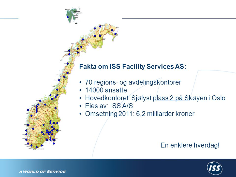 Fakta om ISS Facility Services AS:
