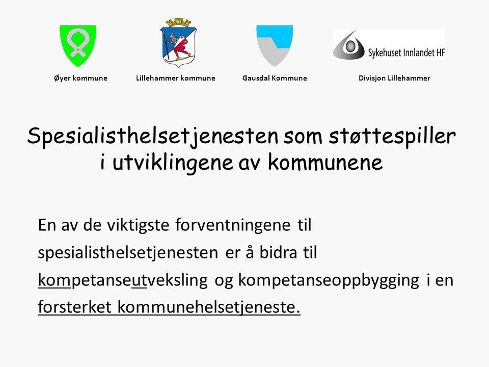 Øyer kommune Lillehammer kommune Gausdal Kommune Divisjon Lillehammer