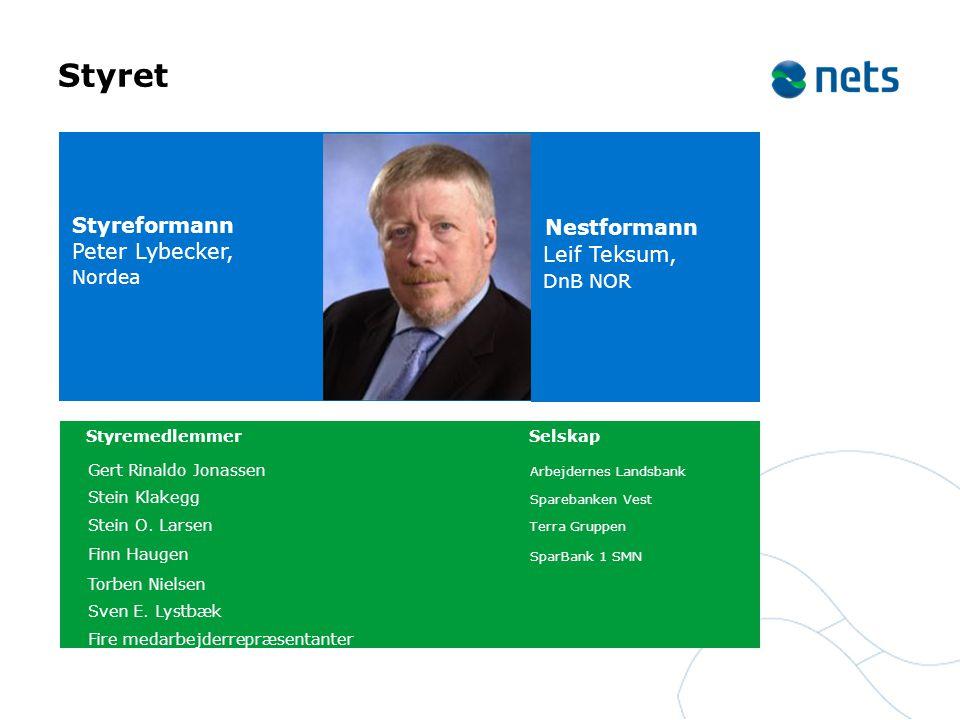 Styret Nestformann Leif Teksum, DnB NOR
