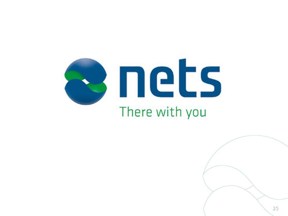 Nets pay-off there with you symboliserer vores ønske om langsigtede relationer med kunderne.