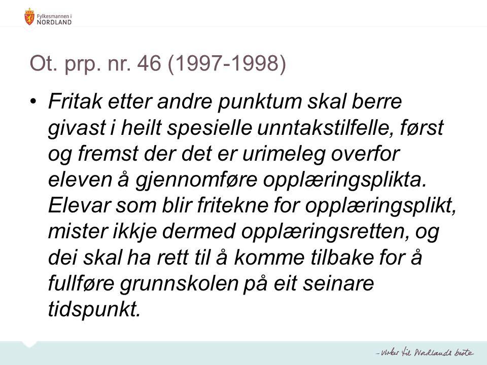 Ot. prp. nr. 46 (1997-1998)