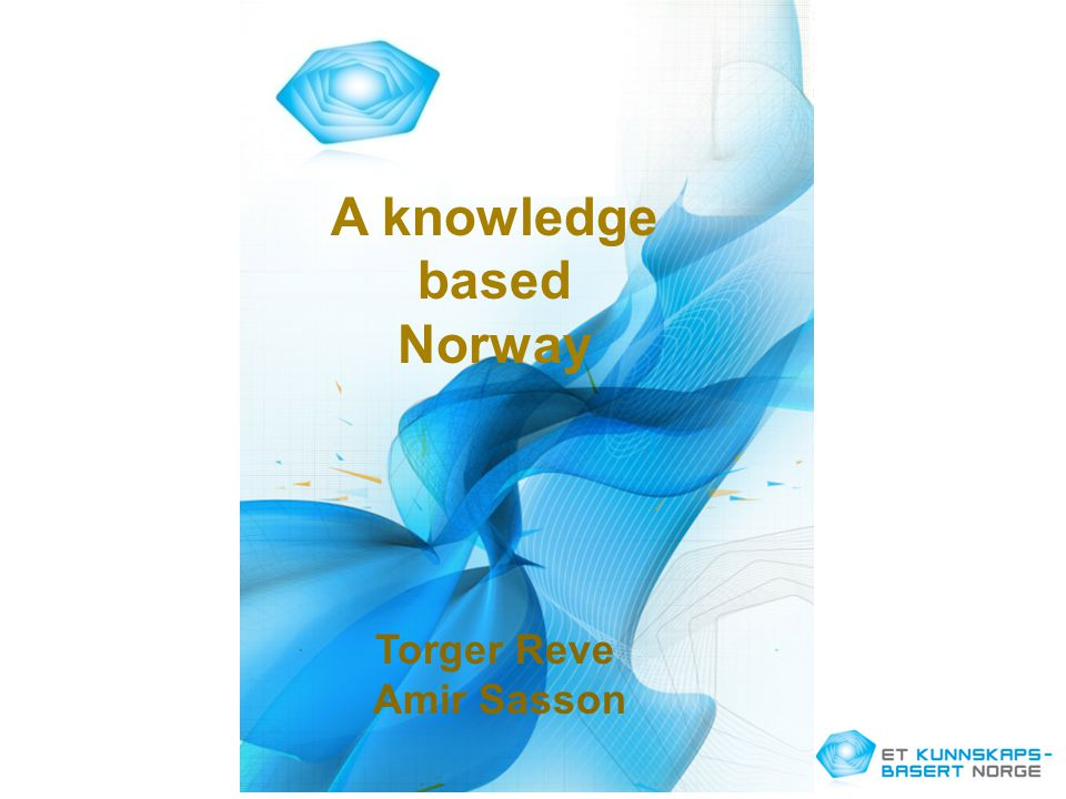 A knowledge based Norway
