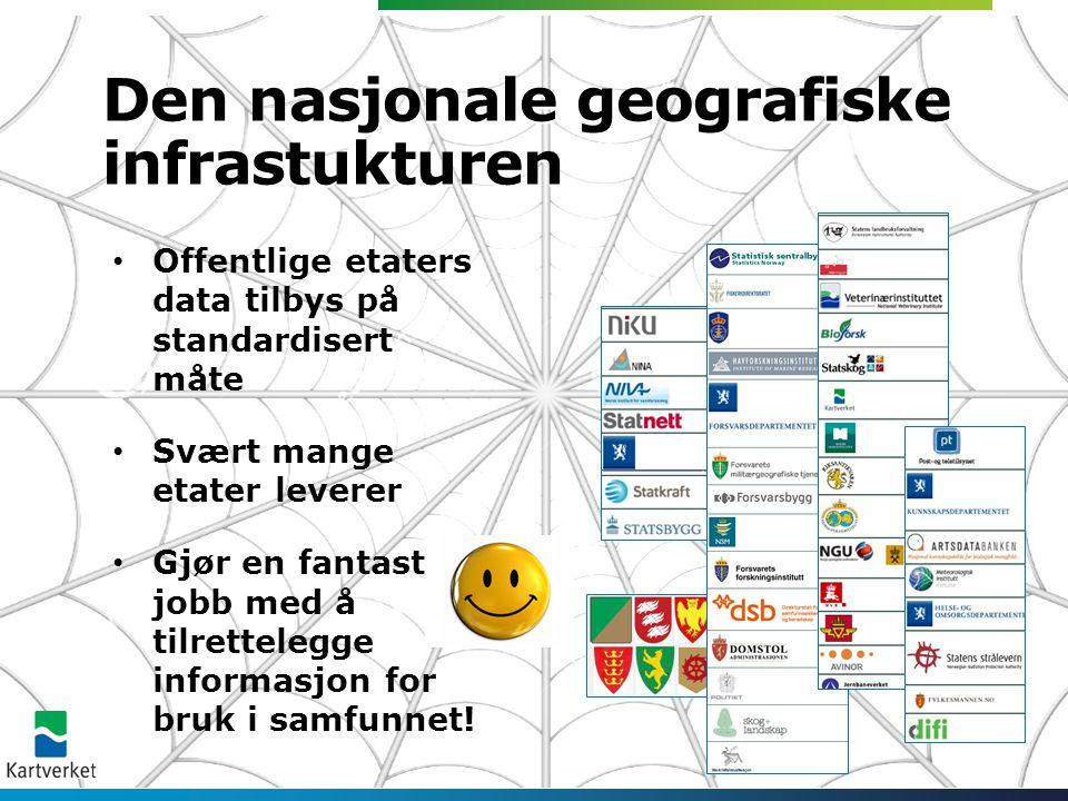 Den nasjonale geografiske infrastukturen