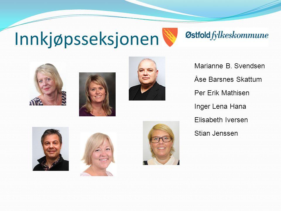 Innkjøpsseksjonen Marianne B. Svendsen Åse Barsnes Skattum