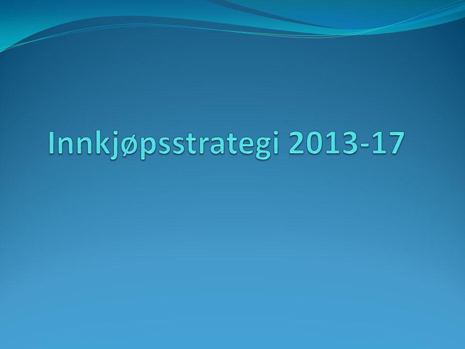 Innkjøpsstrategi 2013-17