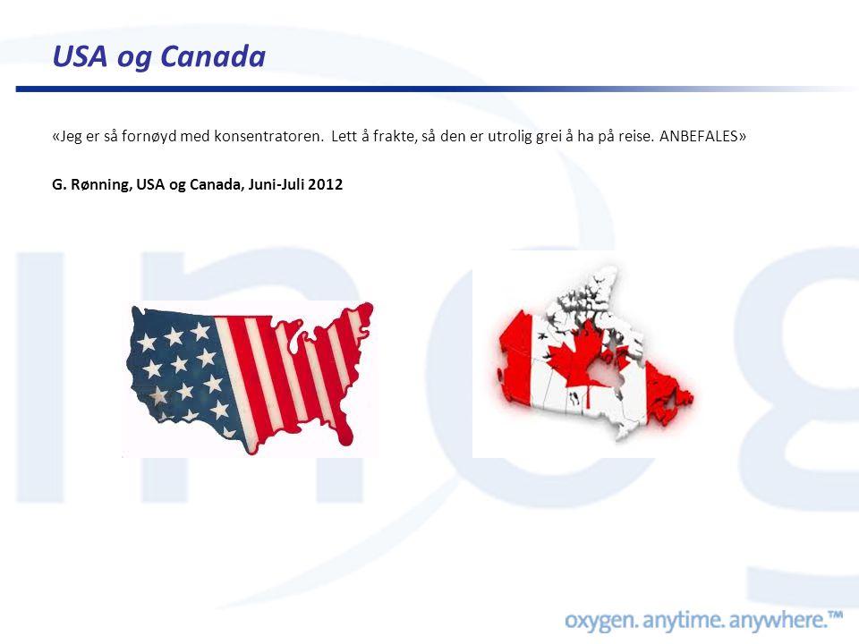 USA og Canada