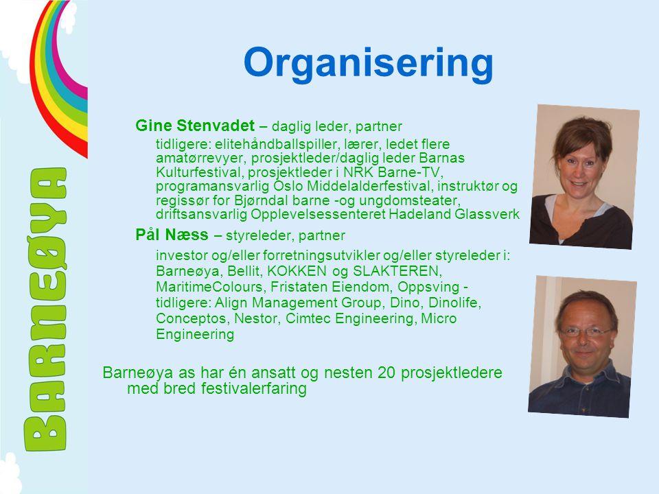 Organisering Gine Stenvadet – daglig leder, partner