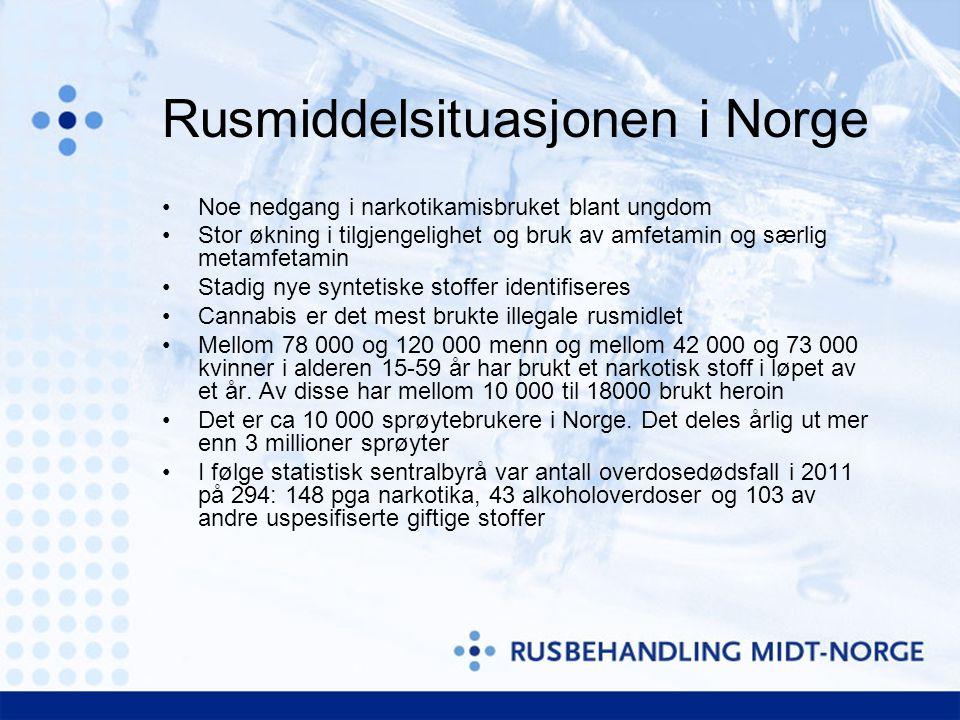 Rusmiddelsituasjonen i Norge