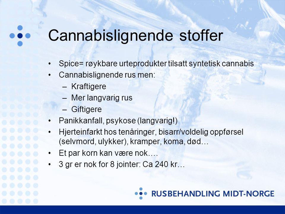 Cannabislignende stoffer