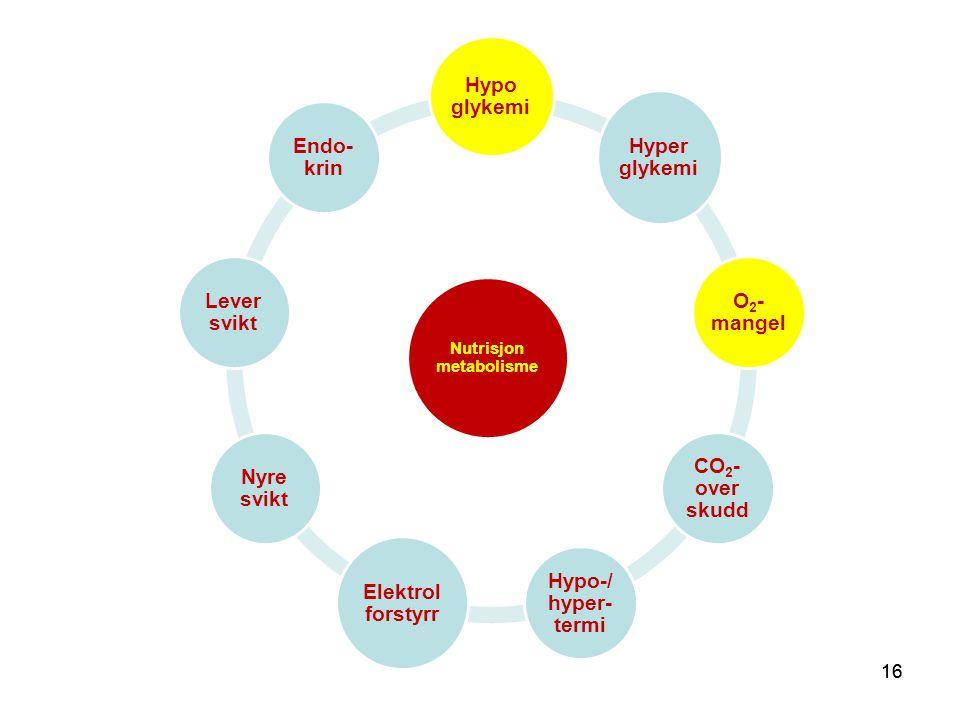 Nutrisjon metabolisme
