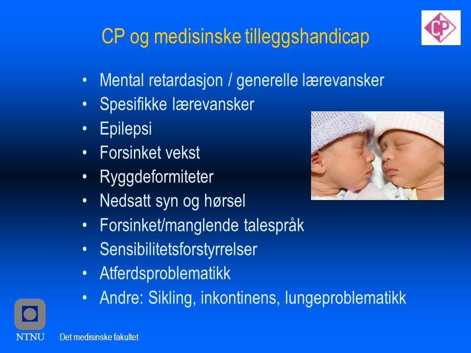 CP og medisinske tilleggshandicap