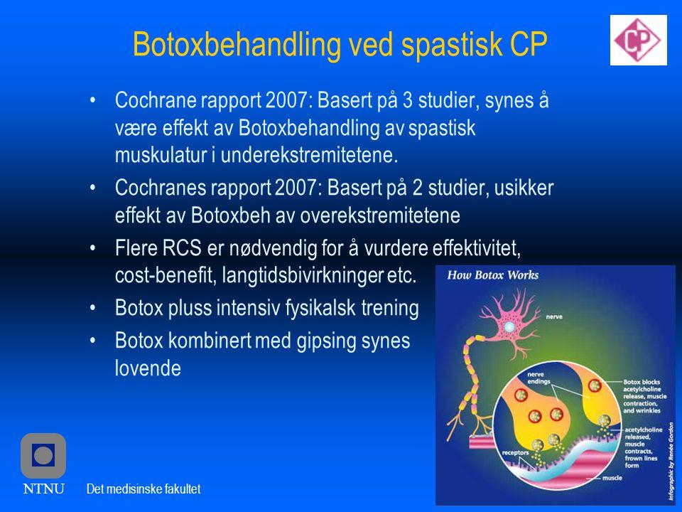 Botoxbehandling ved spastisk CP