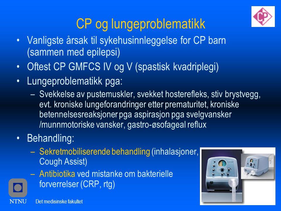 CP og lungeproblematikk