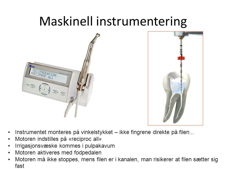 Maskinell instrumentering