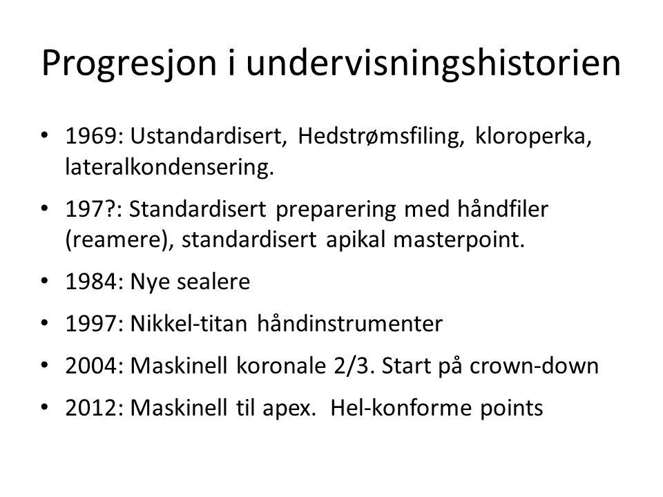 Progresjon i undervisningshistorien