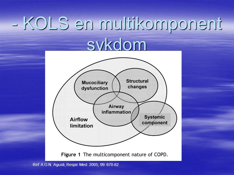 - KOLS en multikomponent sykdom
