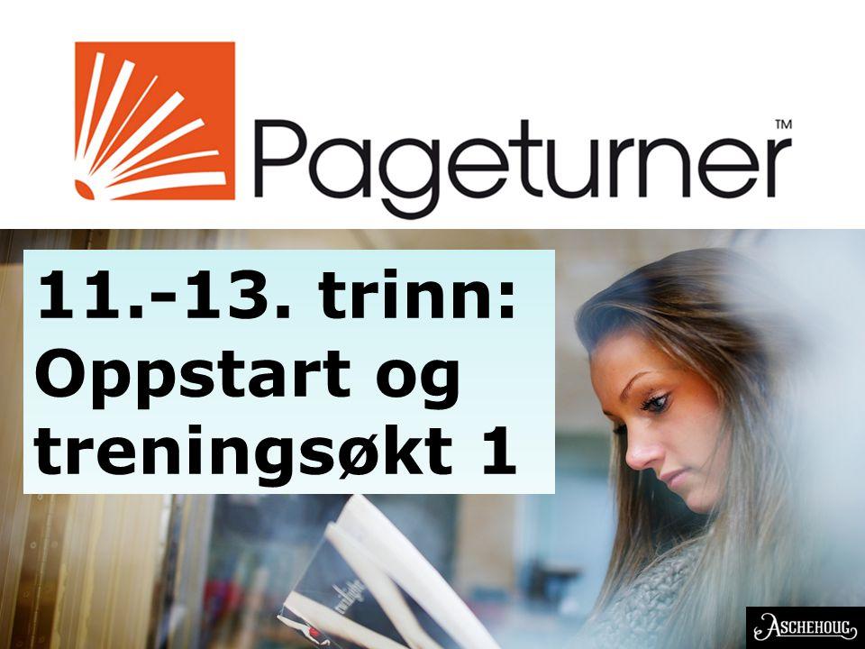 EN NORSK OPPFINNELSE 11.-13. trinn: Oppstart og treningsøkt 1