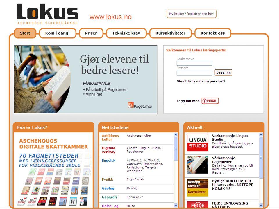 www.lokus.no