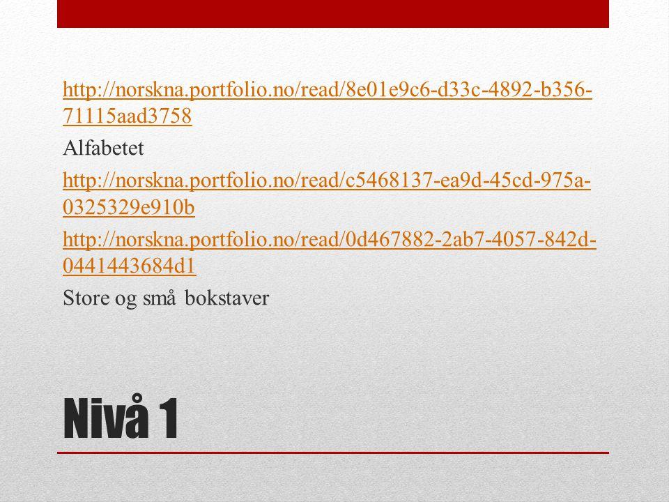http://norskna. portfolio