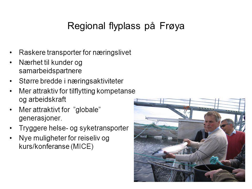 Regional flyplass på Frøya
