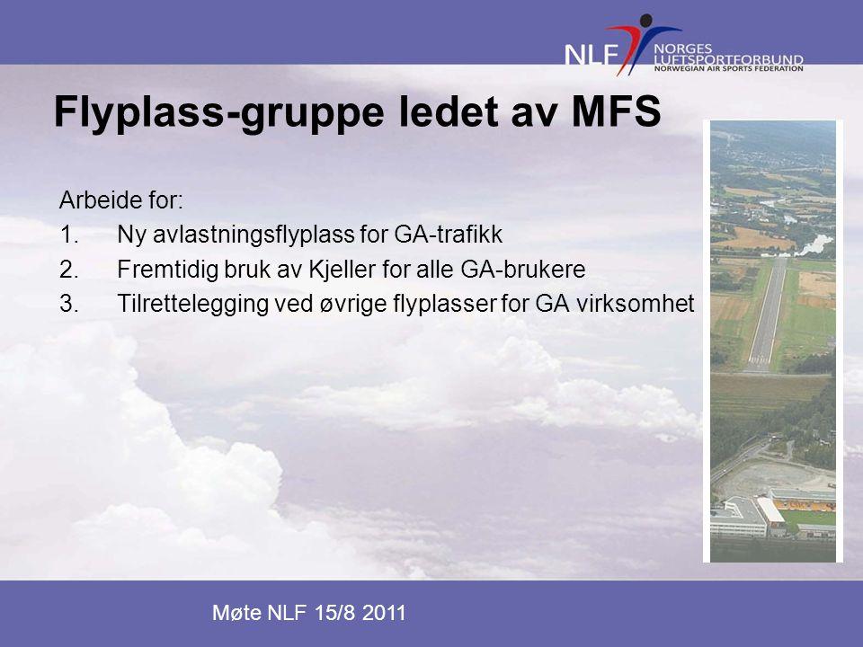 Flyplass-gruppe ledet av MFS