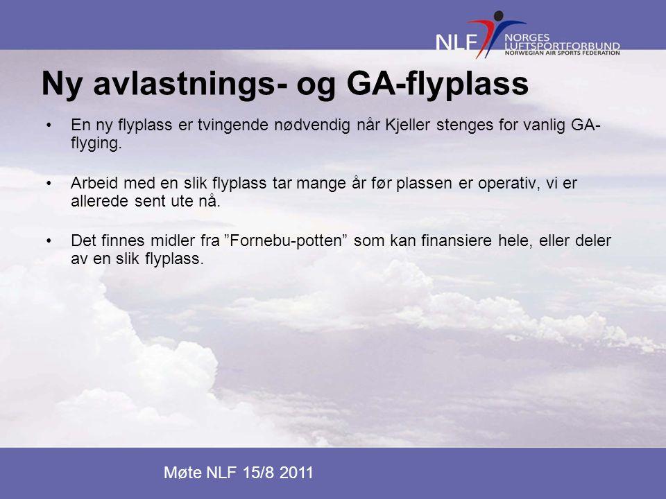 Ny avlastnings- og GA-flyplass