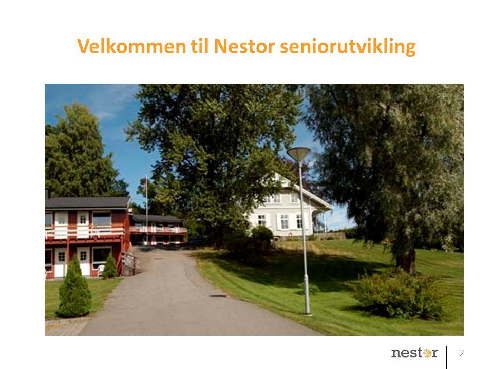 Velkommen til Nestor seniorutvikling