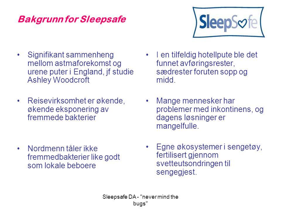 Bakgrunn for Sleepsafe