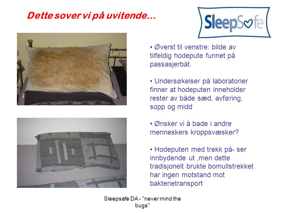 Sleepsafe DA - never mind the bugs